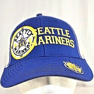 Seattle Mariners Blue/White Trucker Style Baseball